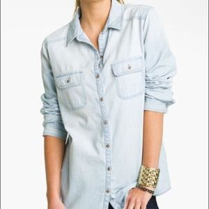 Chambray button down by Rubbish from Nordstrom